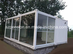 Long Lifespan Low Cost Modified Container Prefabricated/Prefab House pictures & photos