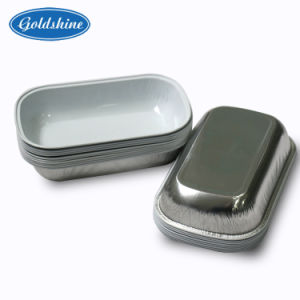 Airline Aluminum Foil Container with Lid pictures & photos
