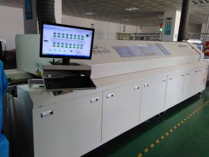 PCBA Assembly High Capacity SMT Reflow Oven Machine pictures & photos