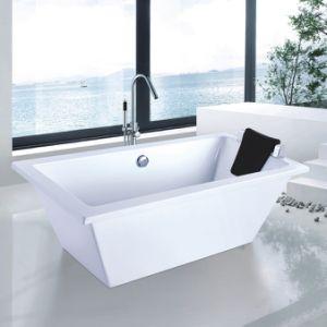 Bathroom Sanitary Freestanding Soaking Bathtub (9006B) pictures & photos