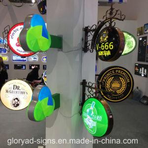Round Light Boxes Acrylic Signage LED Light Box pictures & photos