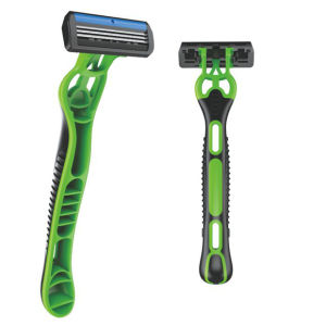 Elegant Shape and Fashionable Design in 3 Blade Safety Razor Provides Perfect Shaving pictures & photos