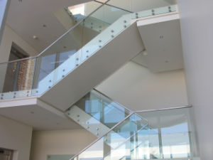 Top Grade Stainless Steel Glass Handrail/Terrace Railing/Balcony Stainless Steel Railing pictures & photos