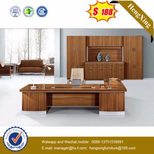 Modern MFC Laminated MDF Wooden Desk Office Table (HX-NT3102) pictures & photos