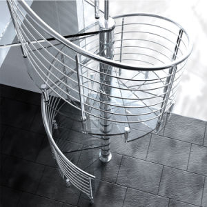 Indoor House Decorative Spiral Staircase Glass Stairs Prices pictures & photos