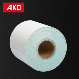 """1""""2"""" (25.4mm*50.8mm) Coated Art Paper Layer Glassine Liner Grease Proofing Adhesive Sticker pictures & photos"""