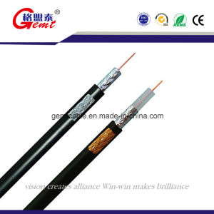 Gemt Sywv-75 PE Insulation Copper Conductor Coaxial Cable pictures & photos