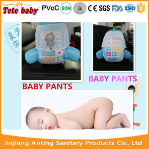 2017 New Design Printed Color Baby Diapers Cloth Cotton Disposable Baby Panties Diaper pictures & photos