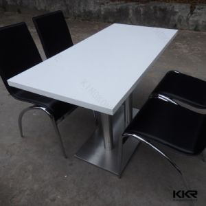 Artificial Stone Solid Surface Restaurant Dining Table pictures & photos