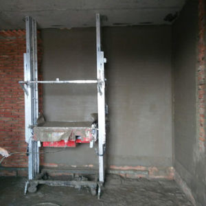 Auto Plastering Machinery with Gypsum Mortar Rendering Wall pictures & photos