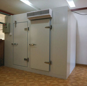 Micro Sensor Freezer Hardware Cold Room Door Made of Stainless Steel pictures & photos