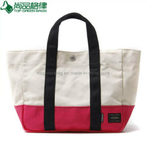 Custom Printing Promotion 100% Organic Natural Cotton Tote Canvas Tote Bag pictures & photos