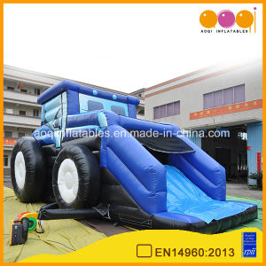 Hot Slae Slide Car Inflatable Truck Combo for Amusememt Park (AQ692) pictures & photos
