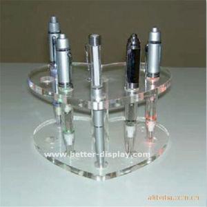 Custom Plastic Acrylic Single Pen Holder Clip pictures & photos