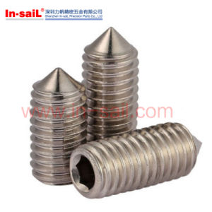 Stainless Steel Flat Set Screw with Blind Bottom pictures & photos