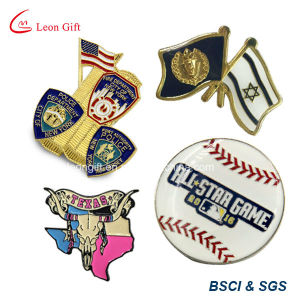 Factory Custom Logo Enamel Metal Badge Lapel Pin pictures & photos