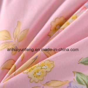 Yarn Dyed Pattern 40s Cotton Fabric White Duck Down Quilt pictures & photos