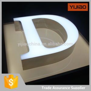 Beautiful Appearance 3D Frontlit LED Advertising Light Box Letters pictures & photos