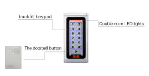 Metal Keypad Access Control S600em-W Wiegand 26 Format pictures & photos