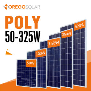 Morego PV Photovoltaic Poly Solar Panel Module 100W - 320W pictures & photos