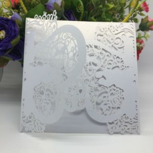 High Quality Fancy Style Custom-Made Invitation Card Printing pictures & photos
