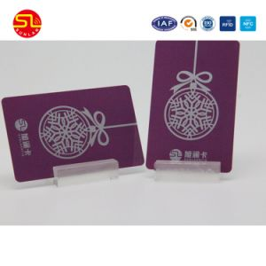 Cmyk Printing Hico Magnetic Stripe PVC Card From Sunlanrfid pictures & photos
