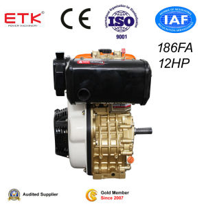 12HP Golden Diesel Engine with CE pictures & photos
