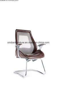 Metal Frame Fixed Leather Office Chair pictures & photos