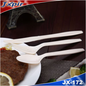 Kitchen Colored Plastic Cutlery Sets Disposable pictures & photos