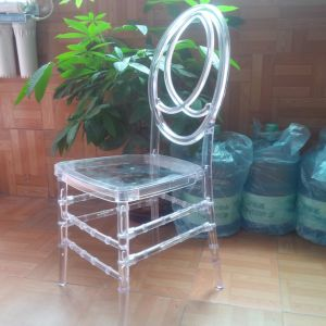 Cheap Price Stacking Transparent Plastic Phoenix Chair pictures & photos