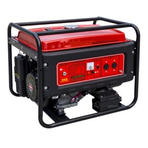 5kw Key Start Portable Gasoline Generator Cg4000e pictures & photos