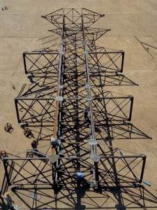 High Voltage Power Transmission Line Lattice Steel and Tubular Tower pictures & photos