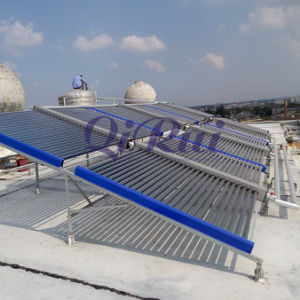 Non-Pressurized Two-Wing Solar Hot Water Heating Collector Proiect pictures & photos