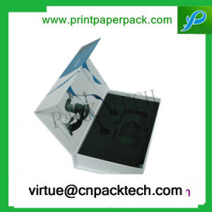 Flip-Open Cosmetics Package Paper Gift Box with Plastic pictures & photos