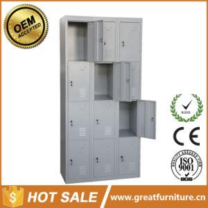 12 Door Staff Metal Clothes Storage Locker Steel Shoes Locker pictures & photos