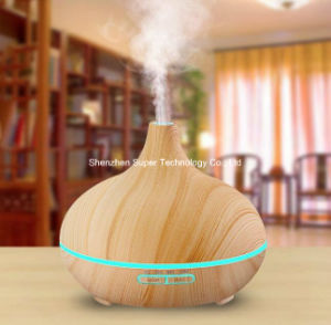 Whisper Wooden Gaind LED Ultrusonic Aromatherapy Diffuser pictures & photos