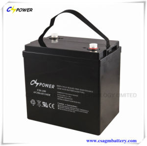 Deep Cycle Lead Acid Battery 6V180ah for Solar Storage pictures & photos