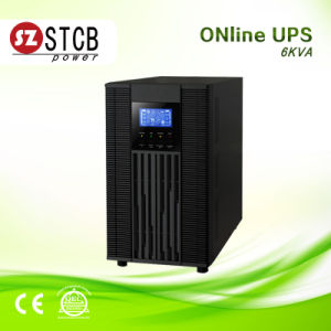 Pure Sine Wave Online UPS 6kVA with External Battery pictures & photos