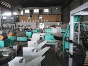Plastic Double Die-Head Film Making Machine pictures & photos