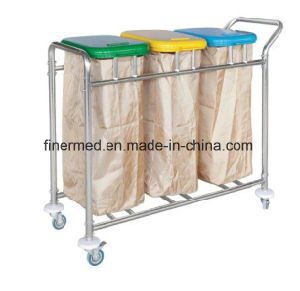 Hospital Dirty Linen Trolley pictures & photos