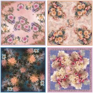 Wholesale Scarf Women Printing Viscose Shawl Scarf (F-011) pictures & photos