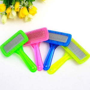 The New Colorful Crystal Pet Brush pictures & photos