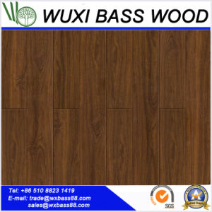 High Gloss Walnut Laminate Flooring pictures & photos