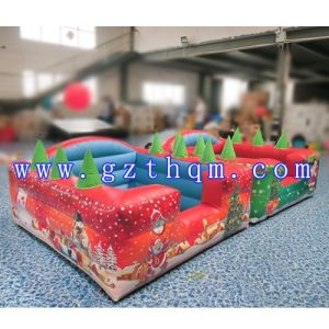 Outdoor Inflatable Christmas Bouncy House Inflatable Christmas Bouncer Inflatable Christmas Bouncy Castle Inflatable Christmas Jumper Jumping Castle Slides pictures & photos