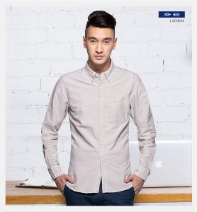 Men Dress Cotton Long Sleeve Shirt Business Casual Shirts for Men pictures & photos