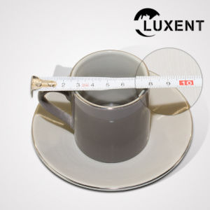 China Custom Ceramic Banquet Small Cup and Saucer pictures & photos