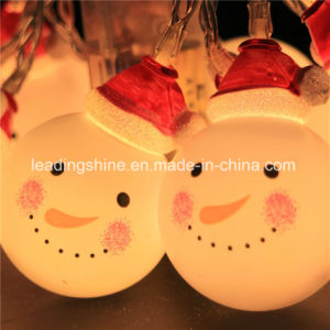 Christmas Warm White Timer 20 Micro LED Outdoor Fairy Light String pictures & photos