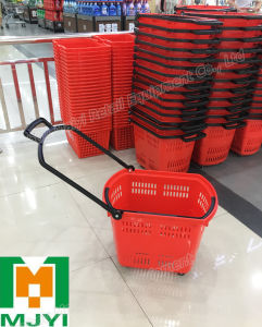Plastic Basket Grocery Shopping Backets pictures & photos