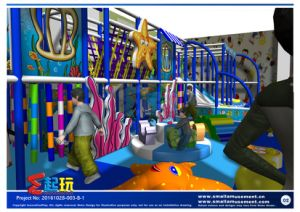 Small Indoor Playground with Big Playability pictures & photos