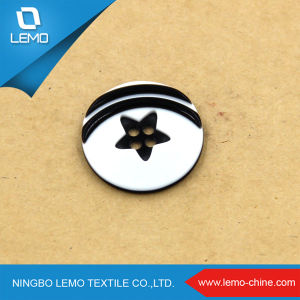 Fashion Imitation Four Holes Button for Coat pictures & photos